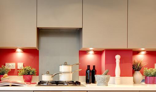 Βάψω μικρές εσοχές στην κουζίνα μου