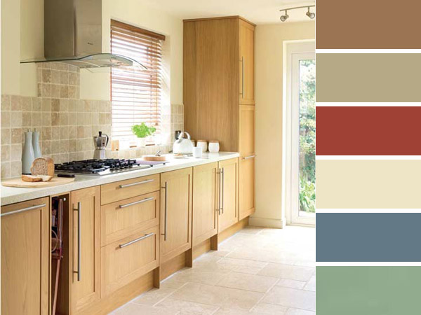 http://www.decobook.gr/images/stories/Advices/Nina_kitchen_wall_paint/light_oak_kitchen_matching_colors.jpg