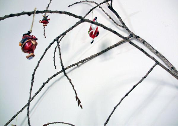 Διακόσμηση με κλαδιά δέντρων