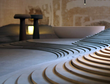 Bologna Water Design 2012: Kengo Kuma - Stone Escape