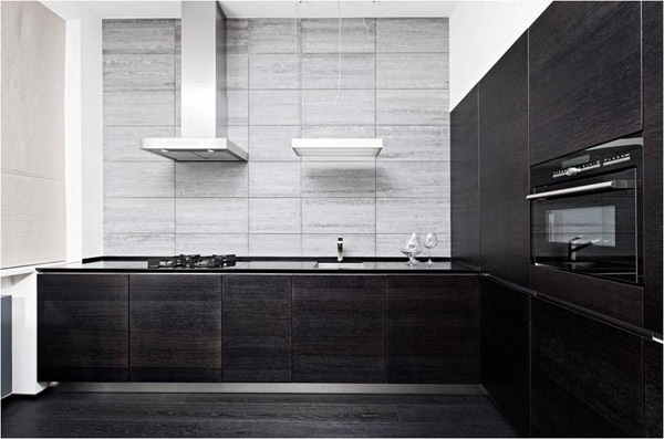 black and white kitchen cabinet doors, πορτάκια κουζίνας σε λευκό και μαύρο