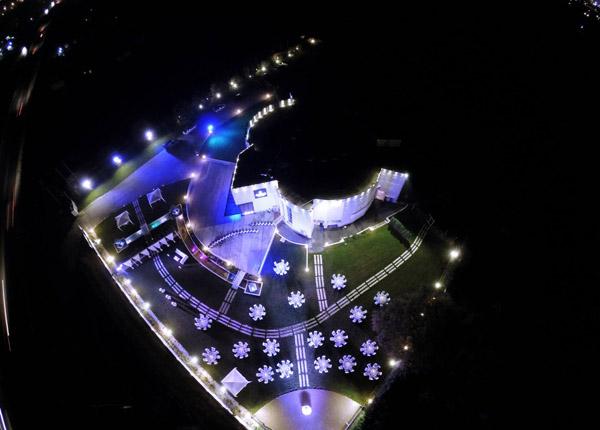 above Ktima Meimaridi, κάτοψη χώρου δεξιώσεων, δεξιώσεις γάμου