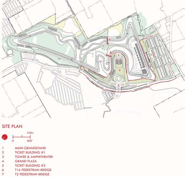 Circuit of the Americas Site Plan