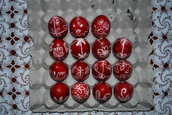 πασχαλινά αυγά περδίκες Γρεβενών