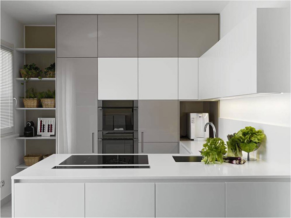 grey and white kitchen cabinet doors, πορτάκια ντουλαπιών κουζίνας σε λευκό και γκρι