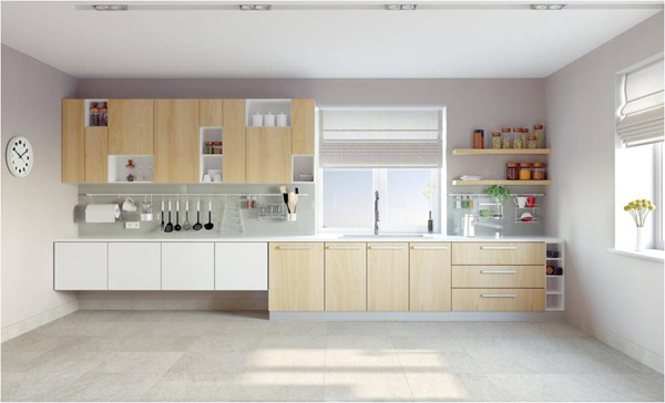 white lacquer and birch kitchen cabinet doors, πορτάκια κουζίνας σε λευκή λάκα και σημύδα