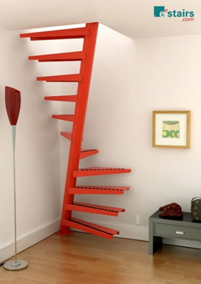 1m2® Staircase σε κόκκινο χρώμα