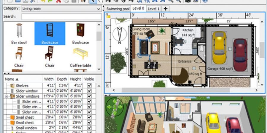 80d5187137fe Σχεδίασε το μόνος σου-Sweet Home 3D - decobook.gr